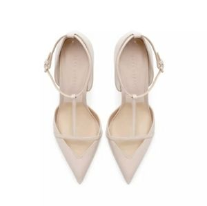 Missguided t-bar heels zara dupe